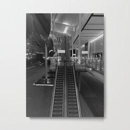 Heathrow Terminal 2  Late night Metal Print