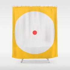 Awake Study 1 Shower Curtain