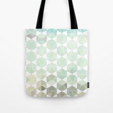 Geometric Sand & Sea Tote Bag