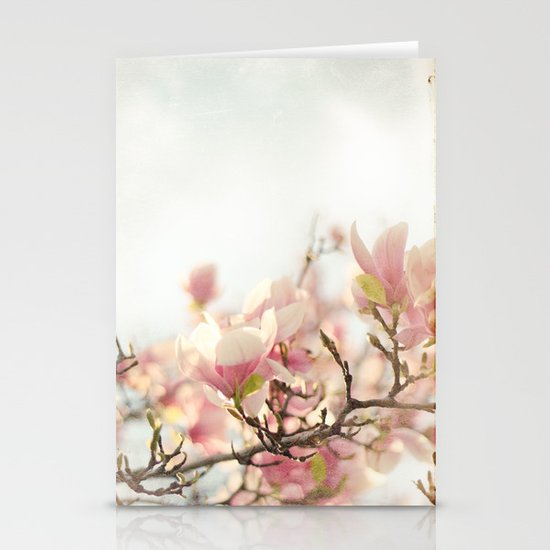 Blooming Magnolia Stationery Cards