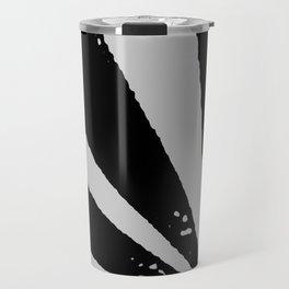 Black Sunburst Travel Mug