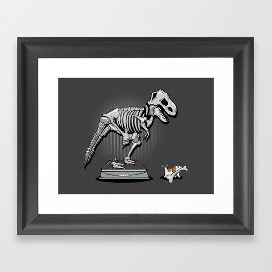 Mine! Framed Art Print