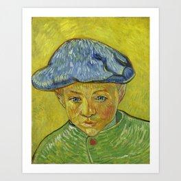 """Vincent van Gogh """"Portrait of Camille Roulin"""" Art Print"""