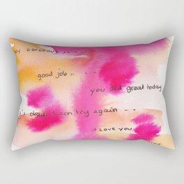 4    | Gentle Reminder Words |190826 | Rectangular Pillow