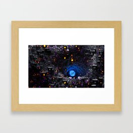 Follicle Framed Art Print