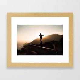 Sun Beam Framed Art Print