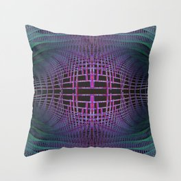 Spacetime Gravity Wave Deformation Throw Pillow