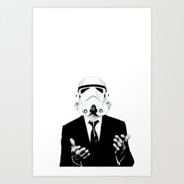 GQ Trooper Art Print