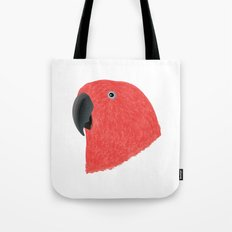 Eclectus [Female] Parrot Tote Bag