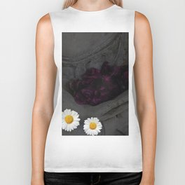 Flowers are a treasure Biker Tank