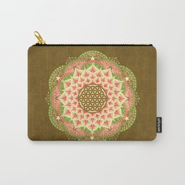Flower of Life 6 Carry-All Pouch