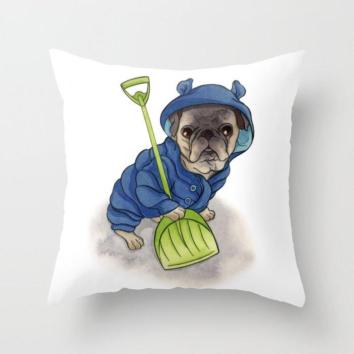 Moe Throw Pillow