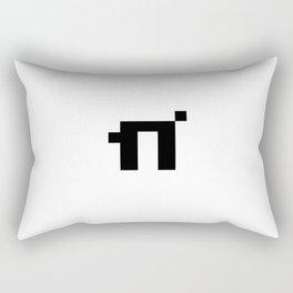 8bit Pi Rectangular Pillow