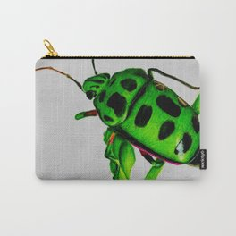Bright Beetle Carry-All Pouch