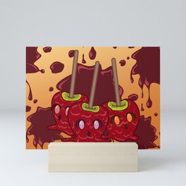 Desserts - Caramel Apples - HALLOWEEN Mini Art Print