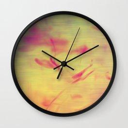 Liquids Go Abstract Wall Clock
