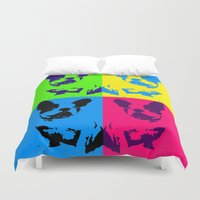 doge Duvet Covers featuring doge by vidikay