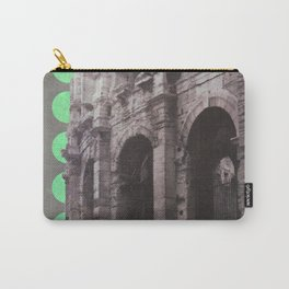 Green Dots Carry-All Pouch