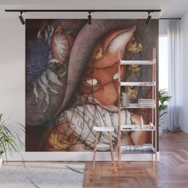 Foxy Lady Wall Mural