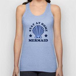 Stay At Home Mermaid Unisex Tank Top