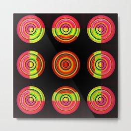 Circle # 3 squared Metal Print