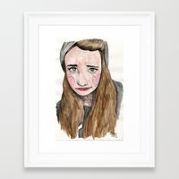 weird Framed Art Prints featuring Weird. by Nova
