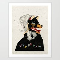 Dysphoria Art Print