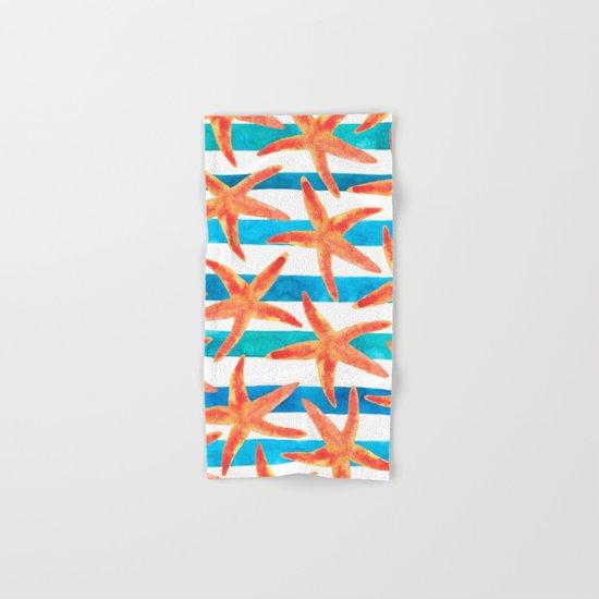 Starfish Tropics Hand & Bath Towel