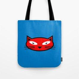 Orange Kitty Tote Bag