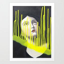 Godrays Art Print
