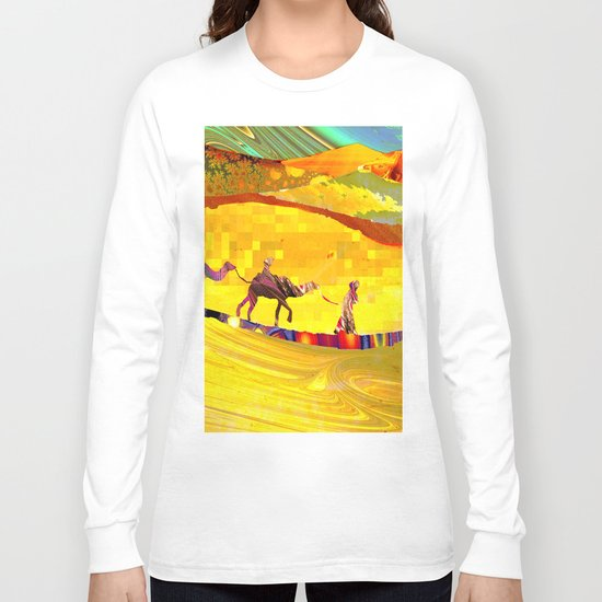 over the never ever ending sand Long Sleeve T-shirt