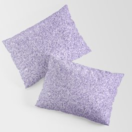 Ultra violet light purple glitter sparkles Pillow Sham