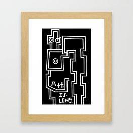 Art. is. ... Framed Art Print