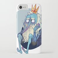 musa iPhone & iPod Cases featuring sadking by musa