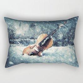 Wistful Abandonment Rectangular Pillow