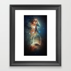 War Of The Worlds II. Framed Art Print