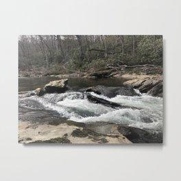 NC Mountain Trout Stream Metal Print