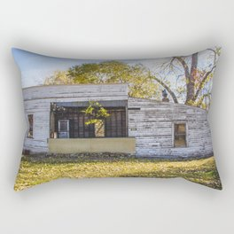 Old Grocery Store, Huff, North Dakota 4 Rectangular Pillow