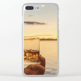 Cheers to the Sea Clear iPhone Case