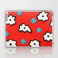 Dutch Flowers on Red Laptop & iPad Skin