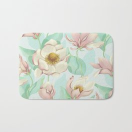 magnolia bloom - fairy version Bath Mat