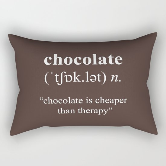 Chocolate Rectangular Pillow