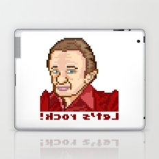 !kcor s'teL (Man From Another Place Pixel Art) Laptop & iPad Skin