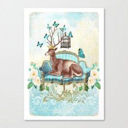 Deer me Canvas Print