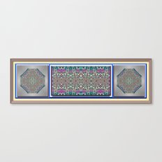 An Indian Garden Canvas Print