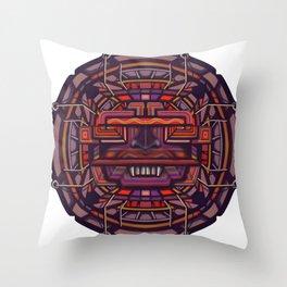 Collider mask Throw Pillow