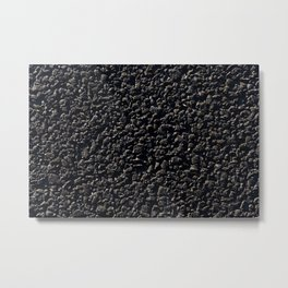 new road, close-up Metal Print