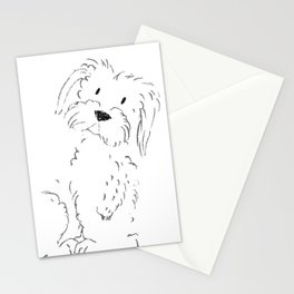 Cute Maltese Stationery Cards