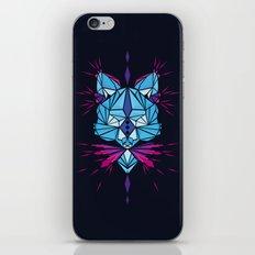 Triangle wolf iPhone & iPod Skin