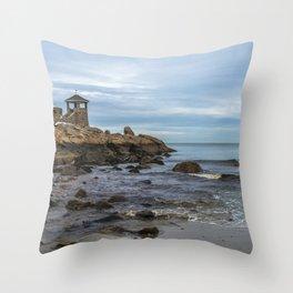 Front Beach 12-4-19 Throw Pillow